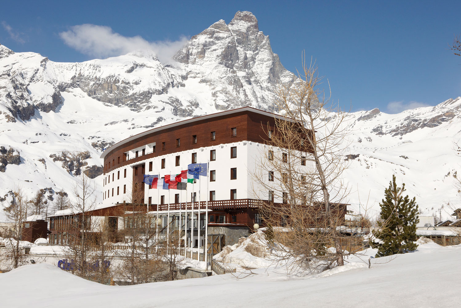 Club med Cervinia in the Alps
