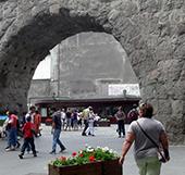 The beauty of Aosta city