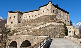 The old Forte di Bard