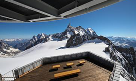 The new Skyway in Aosta Valley