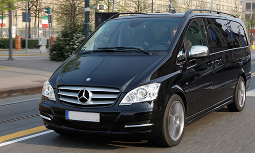 Most used vehicle for our airport transfers