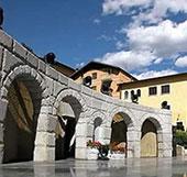 Piazza Cavalieri di Vittorio Veneto a Saint Vincent