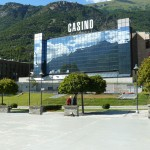 Casino in the middle of the Alps