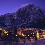 Courmayeur in the Alps