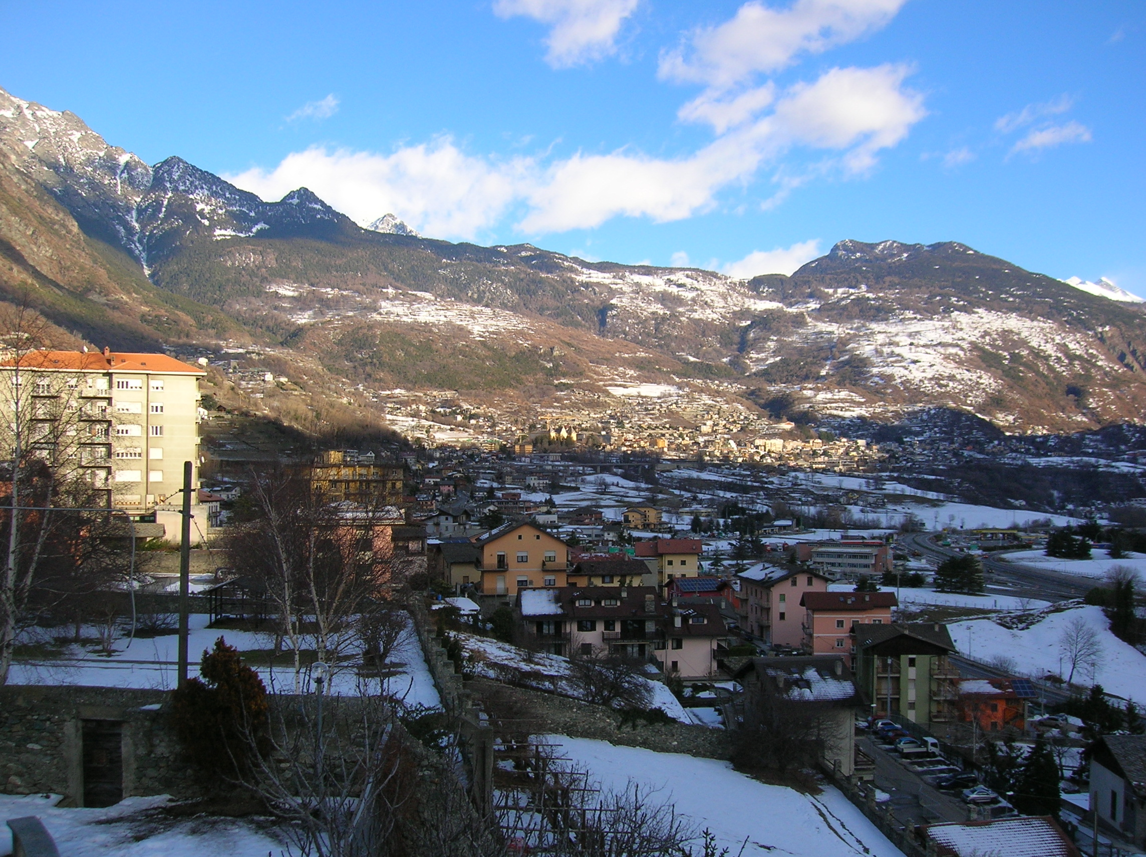 Chatillon in the Alps