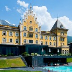 Grand hotel Billia in the Alps
