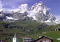 View of Cervinia