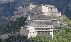 Fortezza di Bard in vista estiva