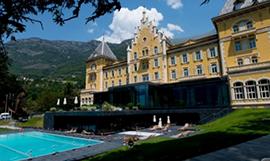 Il Grand Hotel Bilia e la sua piscina