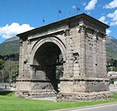 Vecchio Arco d'Augusto ad Aosta