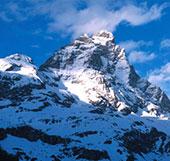 L'incatevole monte cervino vista Italiana
