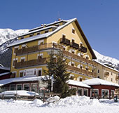 Uno dei fantastici hotel a Cogne
