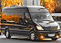 Uno dei nostri minibus per il servizio aeroportuale